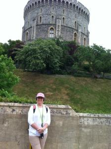 Me prior to our tour of Windsor Castle