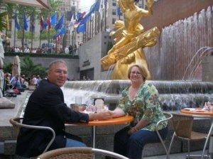 Lunch at Rockefeller Center