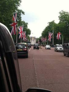 Road to Buckingham Palace